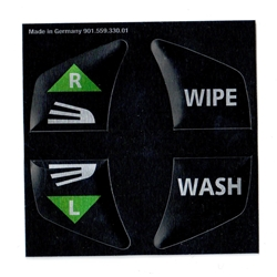 Wiper and Washer Decal Set