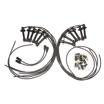 911.609.050.12, 12 plug ignition wire set