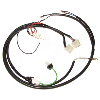 6 pin twin plug harness