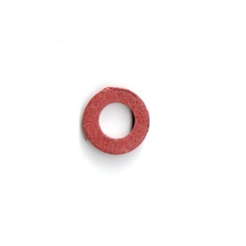 Red Fiber Washer, 4mm x 8mm , 4 x 8 mm