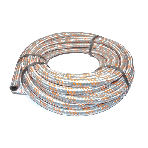 hose zinc plated braided steel 14 mm