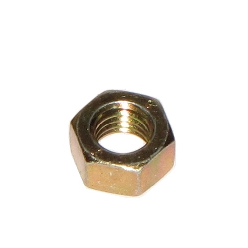 M6 Nut, Yellow Zinc