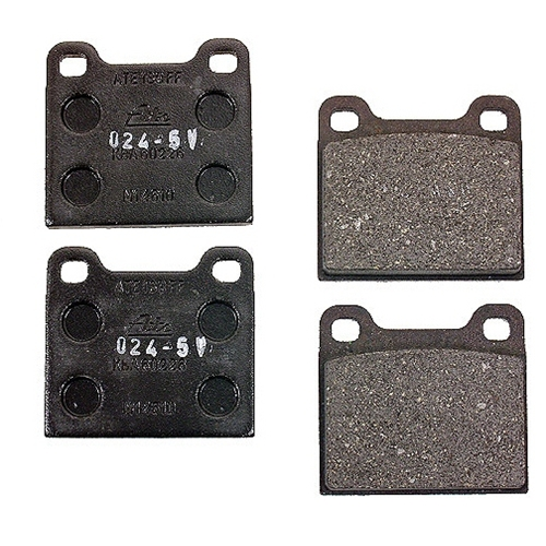 "brake pad set, jurid ""m"" calipers"