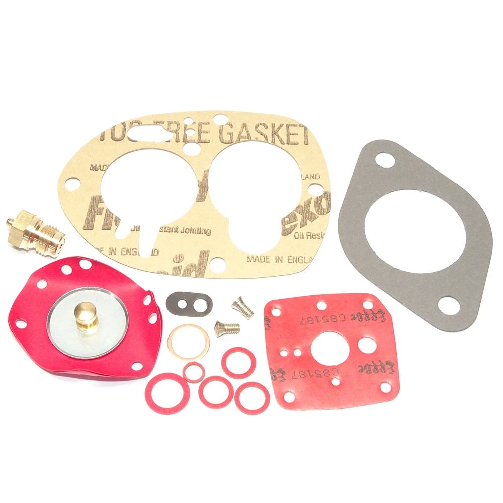 Carburetor Gasket Kit, Solex 40 PBIC PICB Single Barrel