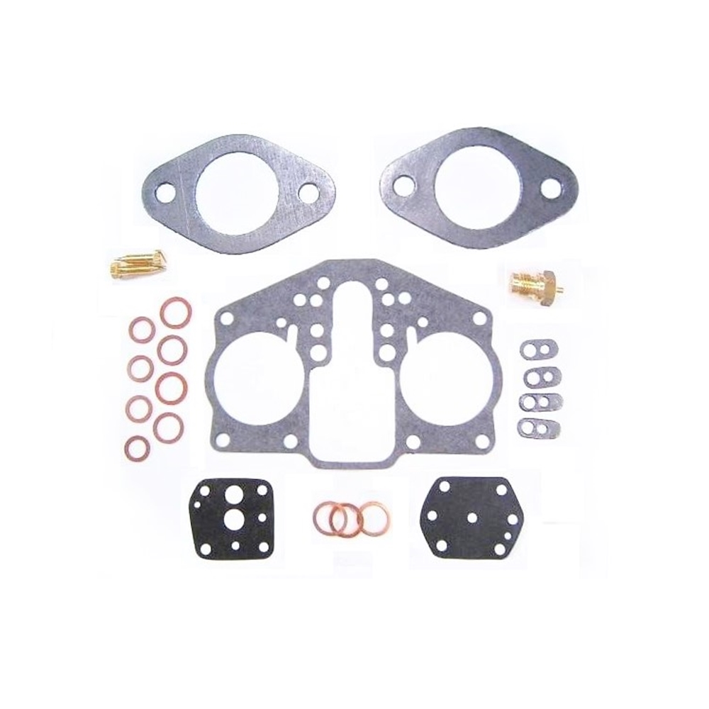 Carburetor Gasket Kit, Solex Solid Shaft