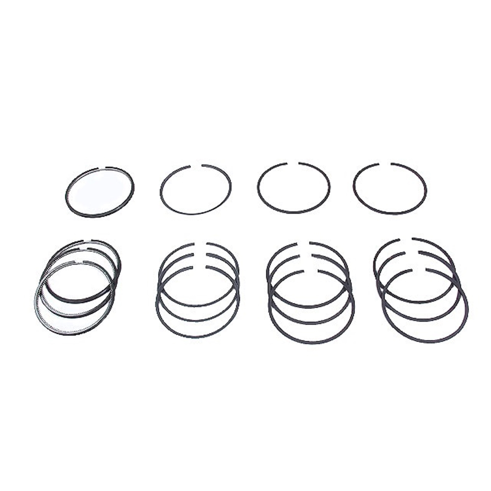 86 mm Piston Ring Set, 4 cyl Chrome top ring