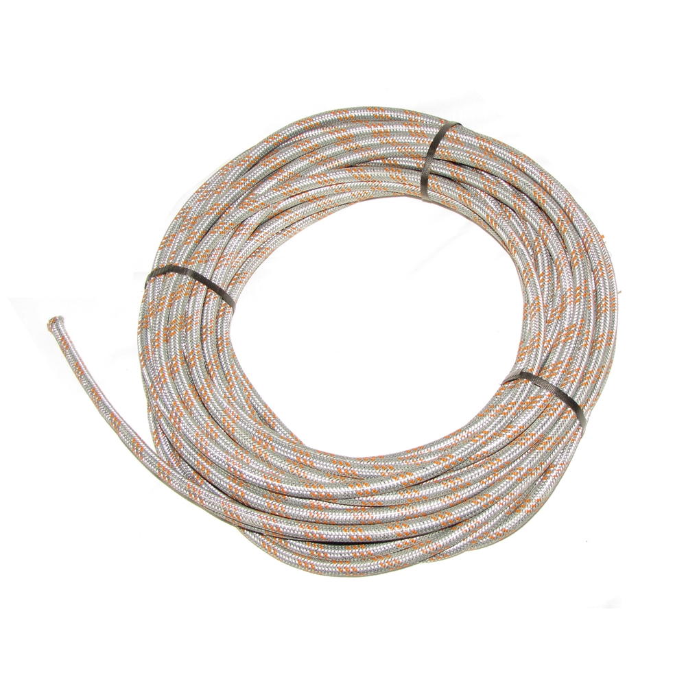 Hose Zinc Plated Steel Braided 5.5 mm ID
