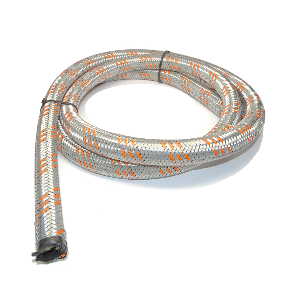 Hose Zinc Plated Steel Braided 20mm ID