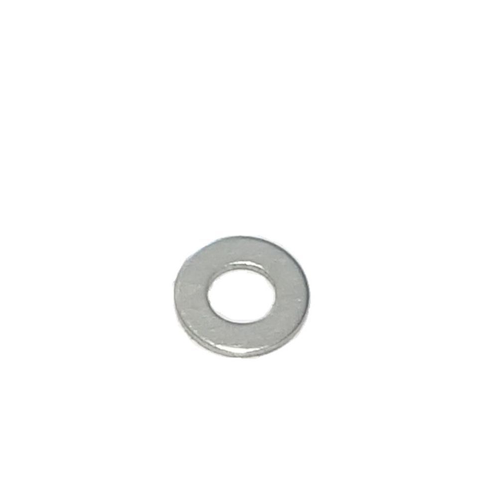 M4 Flat Washer Clear Zinc
