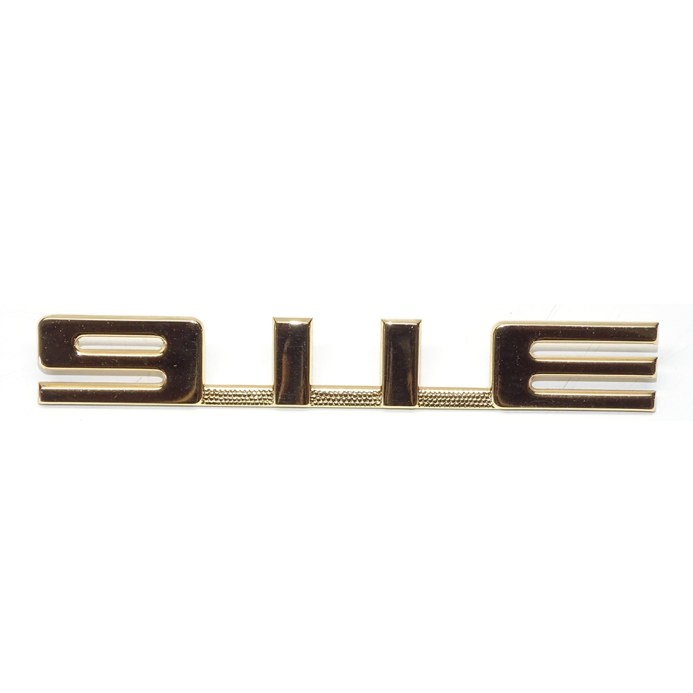 911E Engine Lid Badge in Gold