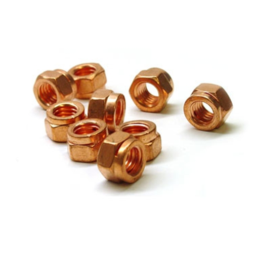 Copper Coated Exhaust Nut M8