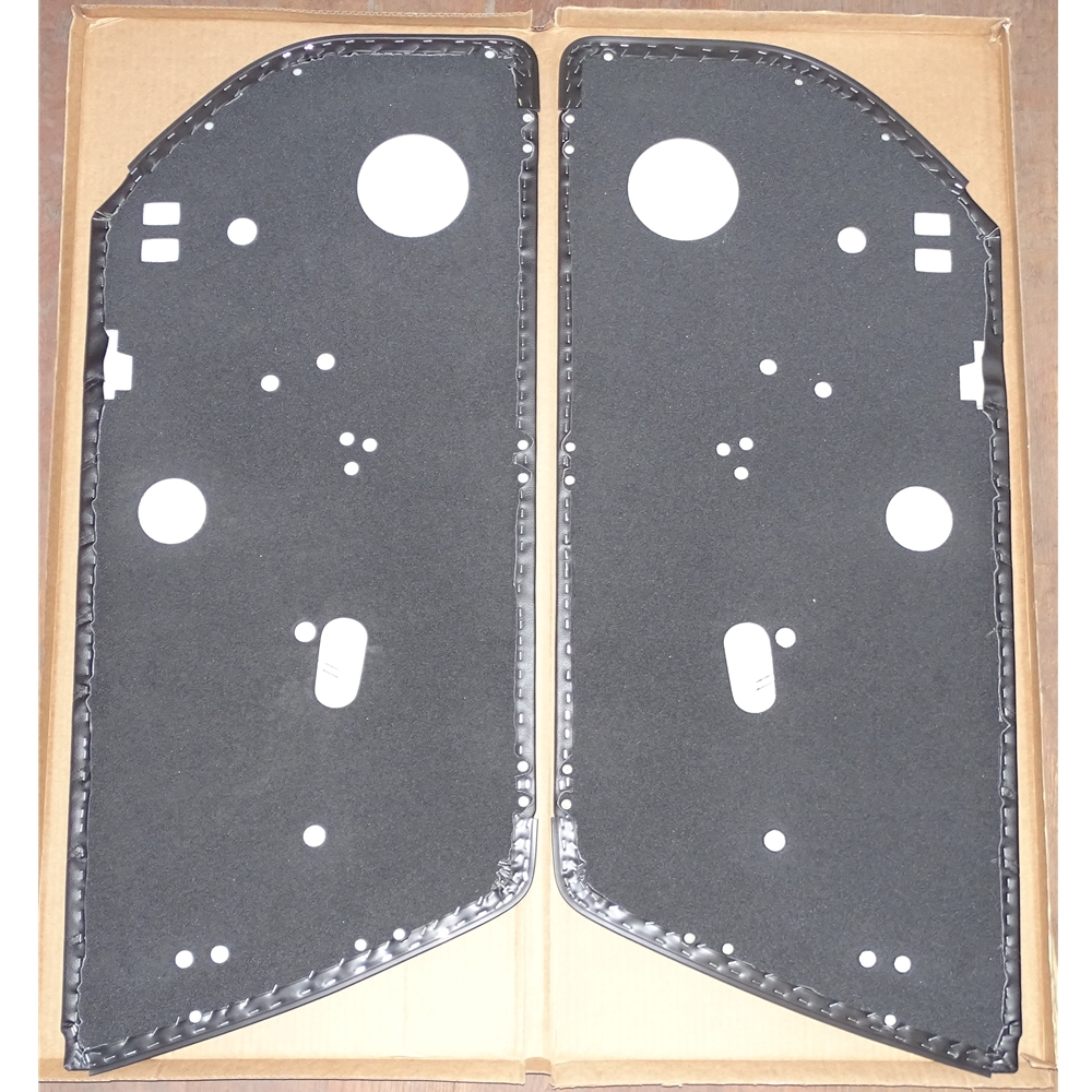 Door Panel Set, Plain 74-89