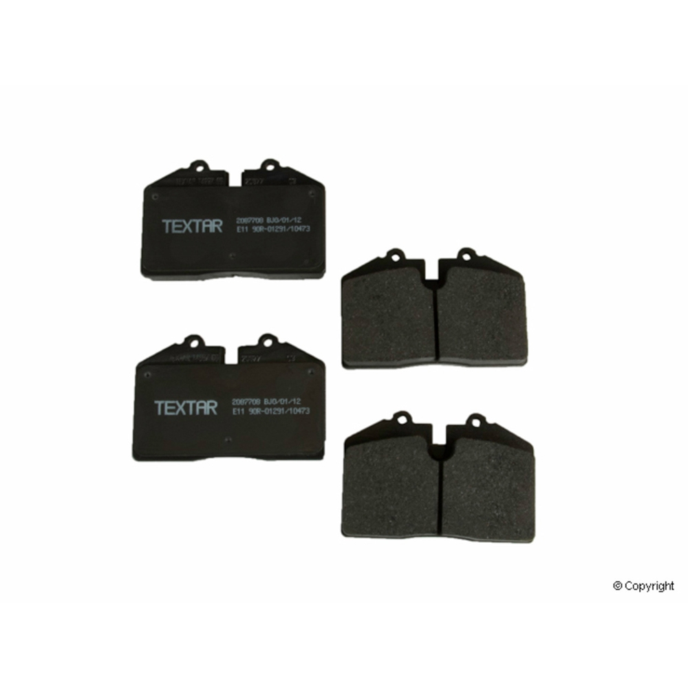 Brake Pad Set, Textar