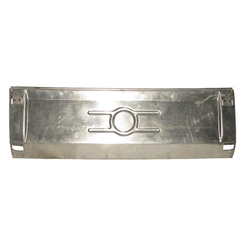 Rear License Plate Panel, Aluminum