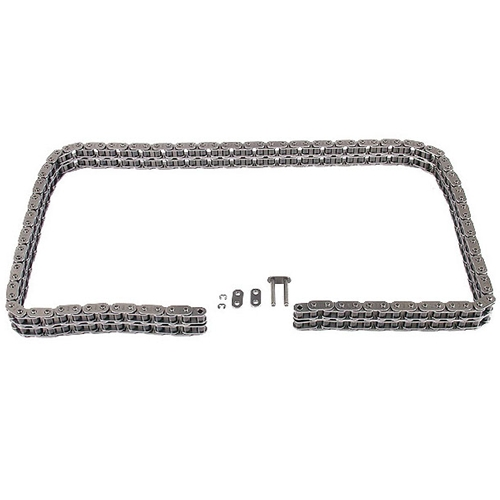 Timing chain set with link