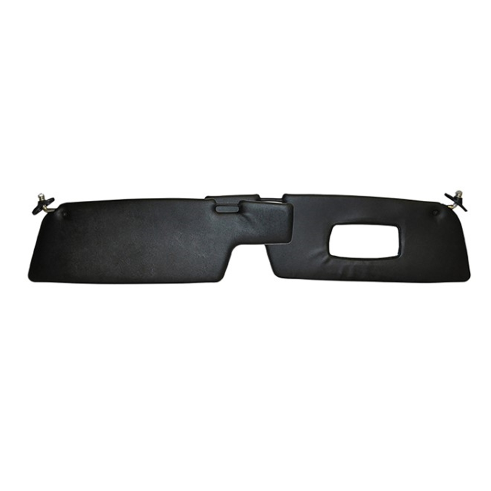 Sun Visor Set, Coupe Black and Black