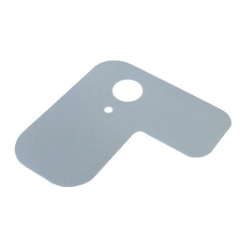 Gas protection flap, gray