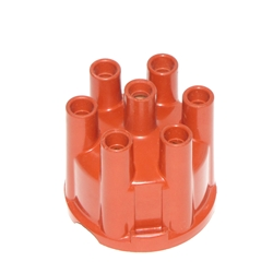 Distributor Cap 6cyl Red