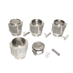 82.5mm Piston Set, Forged, 9 to 1