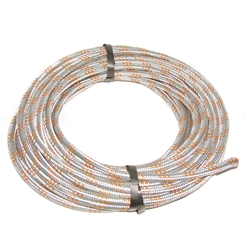 Zinc Plated Steel Braided 7.5mm Hose