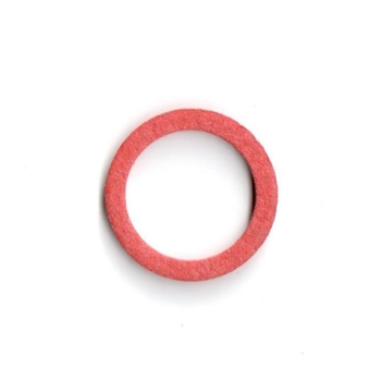 Red Fiber Washer, 10mm x 14mm , 10 x 14 mm
