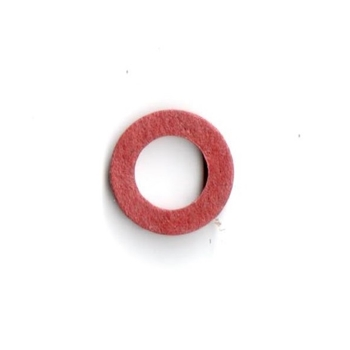 Red Fiber Washer, 5mm x 9mm , 5 x 9 mm
