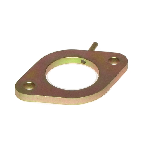 Carburetor intermediate flange with Vacuum fitting