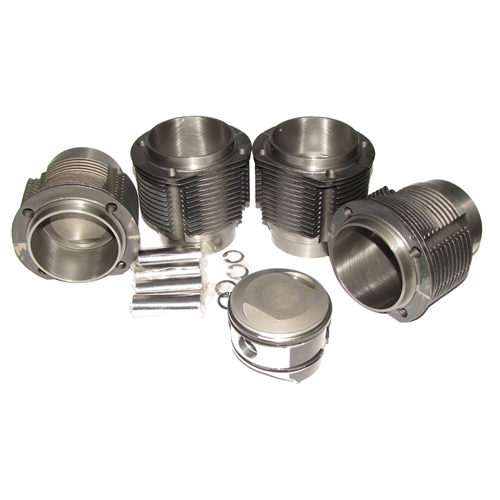 86 mm Cast Iron Piston and Cylinder Set