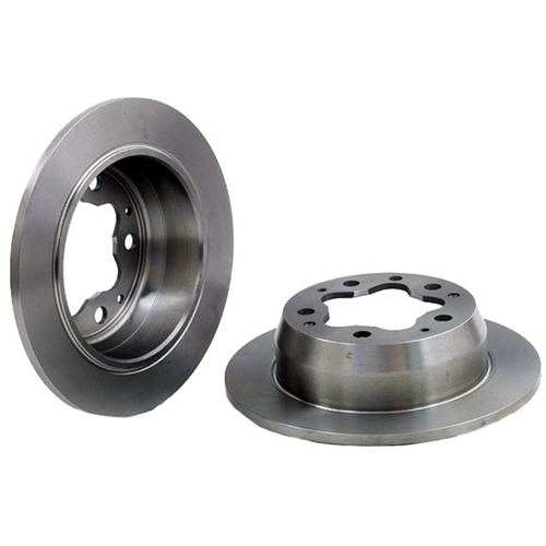 Rear Brake Rotor, Solid 356 models