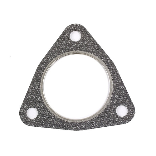 Exhaust Gasket, Triangular from cross over pipe to side muffler/Cat