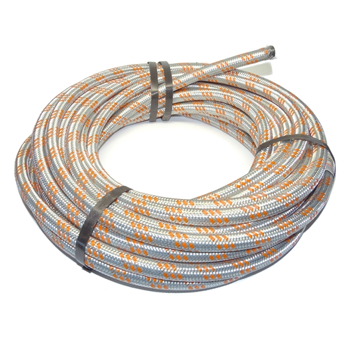 Zinc Plated Steel Braided 11mm Hose