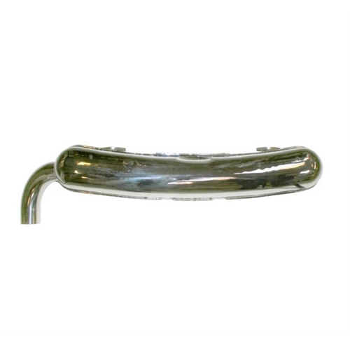 Rear Sport  Muffler Dansk Polished