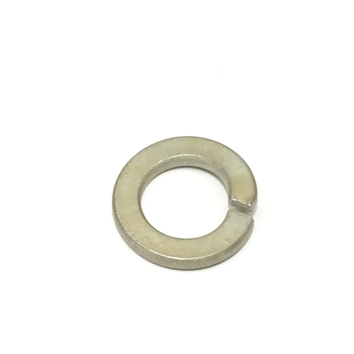 M10 Lock Washer, Yellow Zinc