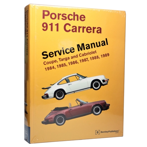 Bentley Shop Manual 84-89 Carrera