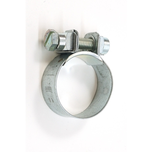 "Oil Line Hose Clamp, ""S"" Hose At Oil Tank"