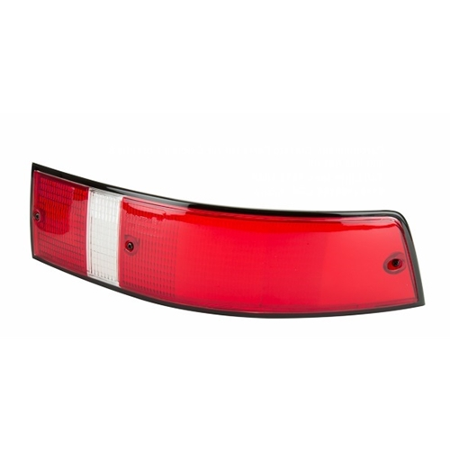 Tail Light Lens, Black Trim, USA