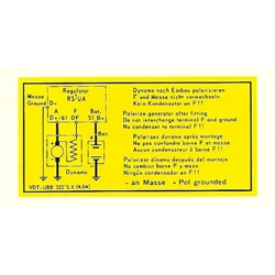 early-voltage-regulator-wiring-decal  pcg70100600